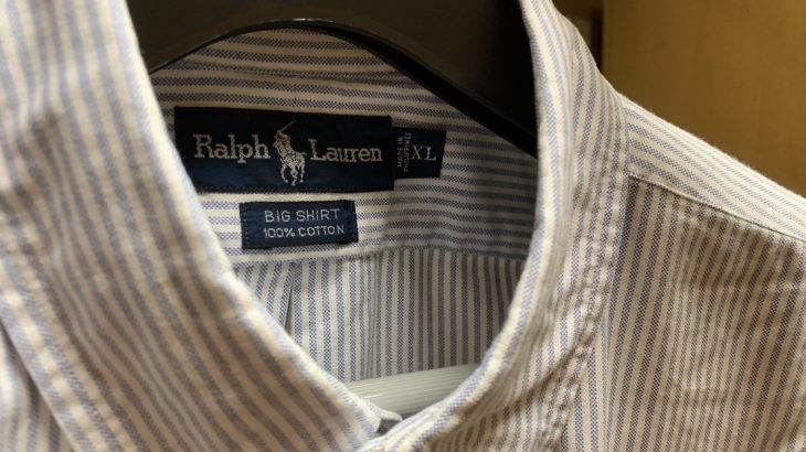 【ラルフローレン】Ralph Lauren BIG SHIRT