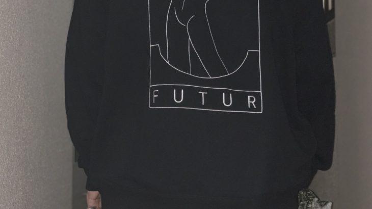 FUTUR × Graphpaperのスウェットパーカ【ループウィラー】
