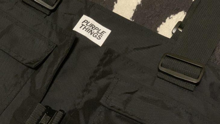 【着るバッグ?】PURPLE THINGSのベスト