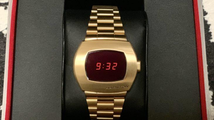 【腕時計】HAMILTON PSR GOLD【ハミルトン】